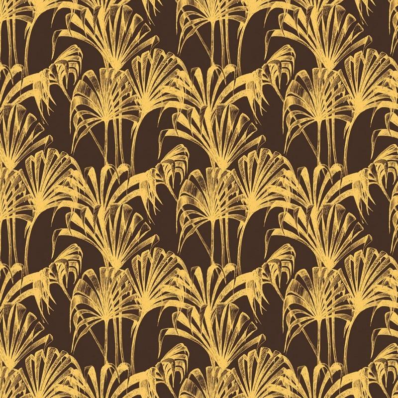 Pavilion Palm Wallpaper Gold Brown Wallpaper Wallpaper