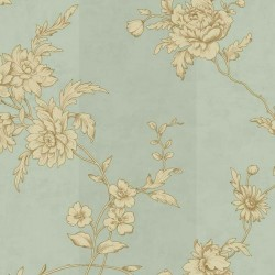 Chantilly Celadon Wallpaper