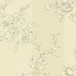 Chantilly Oyster Wallpaper
