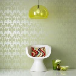 Hula Green Wallpaper