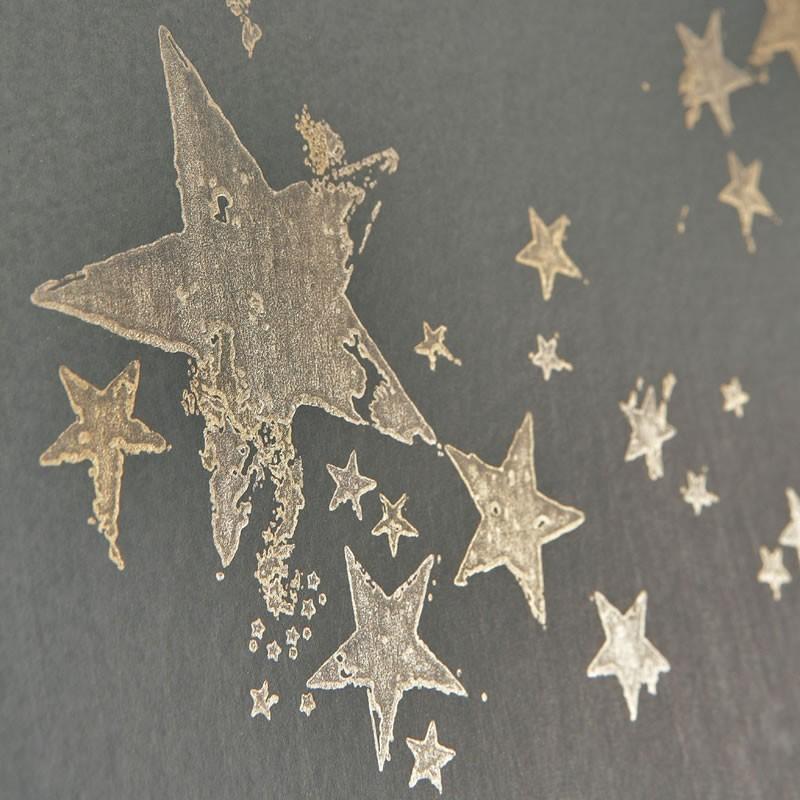 All star wallpaper grey wallpaper barneby gates wallpaper for Papel pintado estrellas