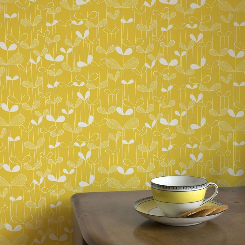saplings wallpaper yellow wallpaper missprint saplings
