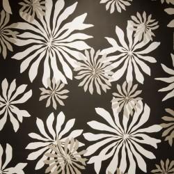 Fleur Black Wallpaper