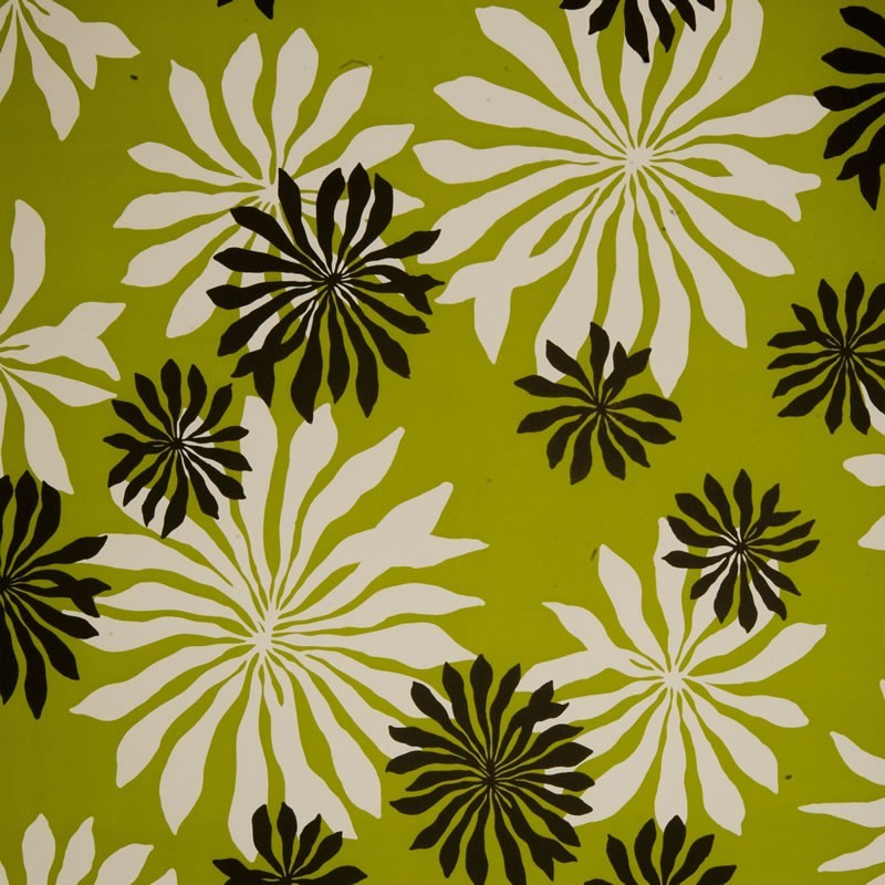 Missprint misp1015 fleur lime green wallpaper missprint - Lime green and white wallpaper ...