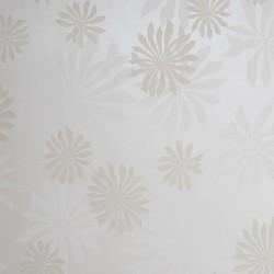 Fleur White Wallpaper