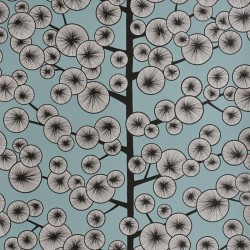 Cotton Tree Sky Blue Wallpaper