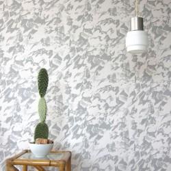 Desert Grey & Cream Wallpaper