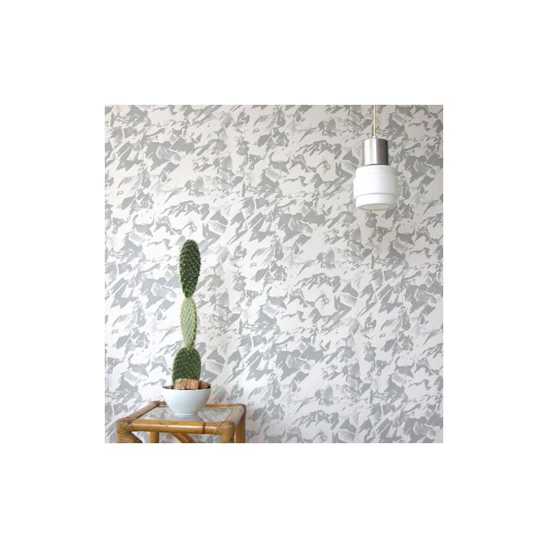 Desert grey cream wallpaper best erica wakerly desert for Grey and cream wallpaper