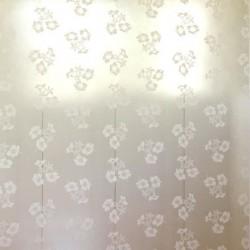 Hibiscus Cream and Gold Wallpaper
