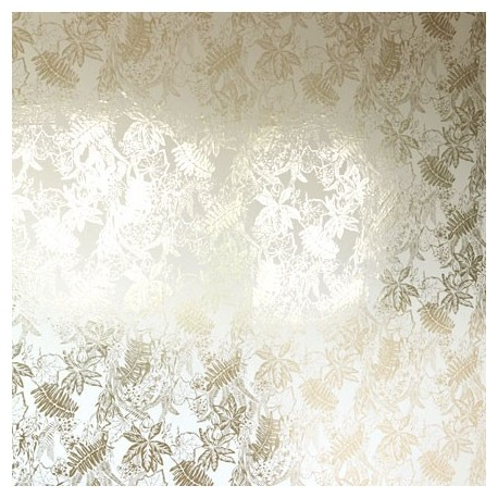 Hothouse Cream & Gold Wallpaper