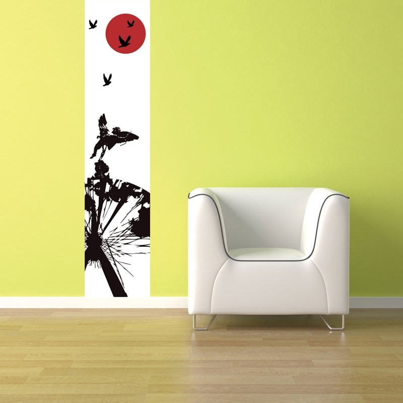 Eros red wall mural digital wall murals online adrienne for Digital wall mural