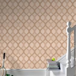 Highbury Mocha Wallpaper