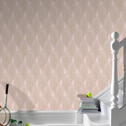 Novella Taupe Wallpaper