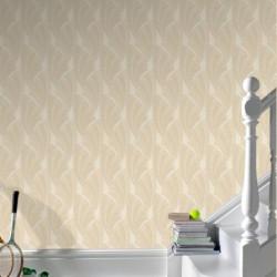Novella Cream Wallpaper