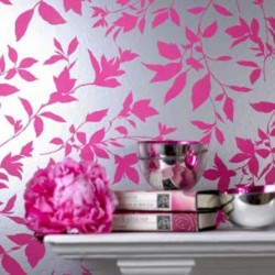Midsummer Pink Wallpaper