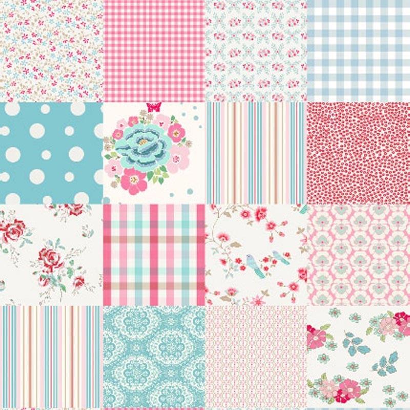 Mural patchwork girls 2000193 - Cojines de patchwork ...