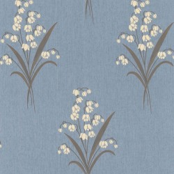 Valley Blue Wallpaper