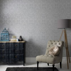 Province Grey Wallpaper