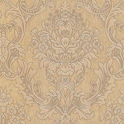 Province Cream & Gold Wallpaper