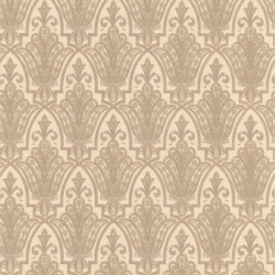 Ritzy Beige & Yellow Wallpaper