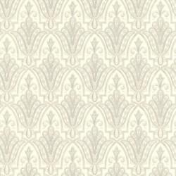Ritzy White Wallpaper
