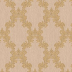 Regency Cream & Gold Wallpaper