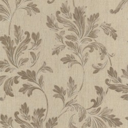 Acanthus Beige Wallpaper