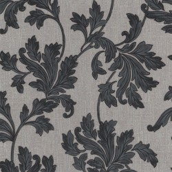 Acanthus Grey & Stone Wallpaper