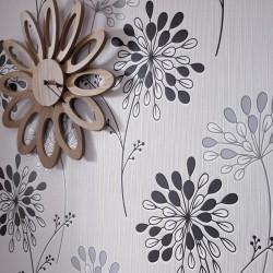 Burst Black & White Wallpaper
