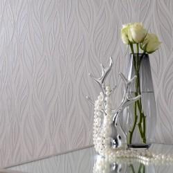Sway White Wallpaper