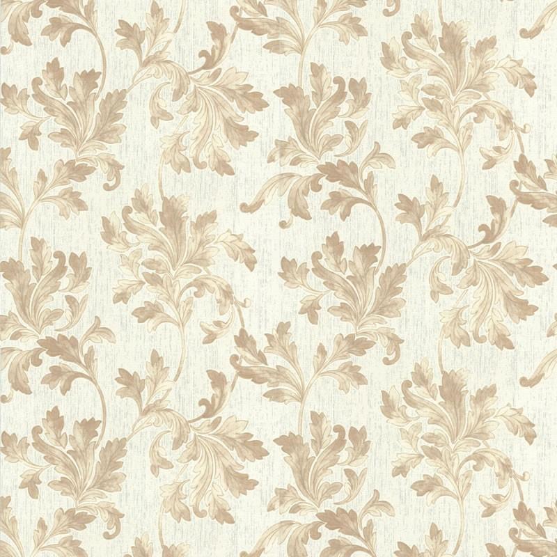 Acanthus white beige wallpaper white wallpaper wallpaper for White wallpaper uk