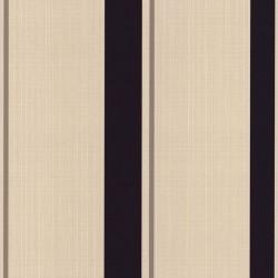 Barley Stripe Purple & Cream Wallpaper