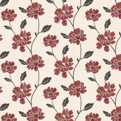 Peony Red Wallpaper