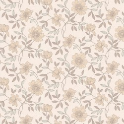 Camille Cream & Beige Wallpaper