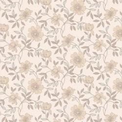 Camille Cream & Beige Wallpaper