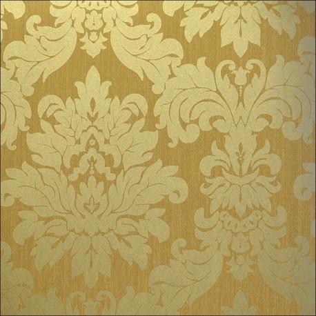 Versalles gold bronze 201c02 for Gold wallpaper designs