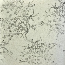 Kyoto Grey White Wallpaper