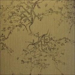 Kyoto Grey Bronze Wallpaper