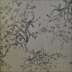 Kyoto Grey Pewter Wallpaper