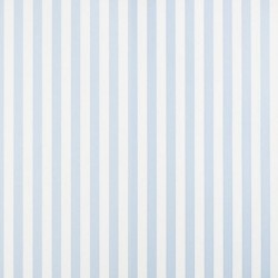 Milena Azul Blue and White Stripe Wallpaper