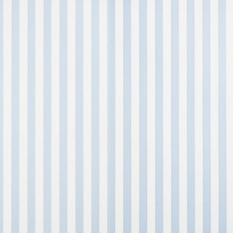 Milena Azul Stripe Wallpaper - Milena Azul Blue And White Stripe-PMIL02