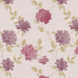 Amelia Cream & Pink Wallpaper