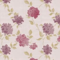 Amelia Cream & Pink Wallpaper