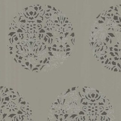 Cerclé Grey on Grey Wallpaper