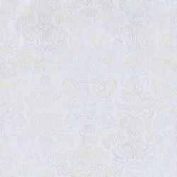 Comblé Beige on Pale Blue Wallpaper