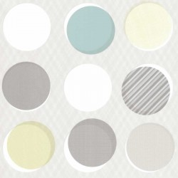 Button Multi-Colour Brown Wallpaper