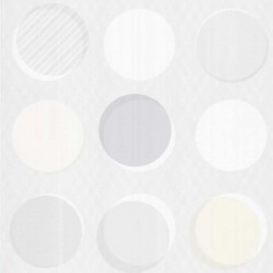 Button Multi-Colour Beige Wallpaper