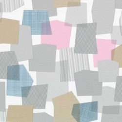 Collage Multi-Colour Grey Wallpaper