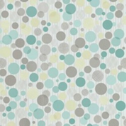 Confetti Multi-Colour Brown Wallpaper