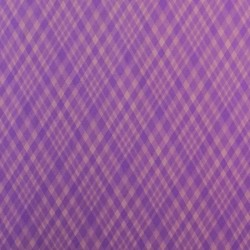 Canvas Purple Check Wallpaper